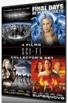 Sci - Fi Collector's Set - 4 Films: The Black Hole / Final Days Of Planet Earth / The Last Sentinel / Supernova
