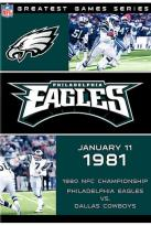 NFL Greatest Games Philadelphia Eagles 1980 Championship Game