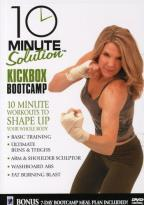 10 Minute Solution: Kickbox Bootcamp