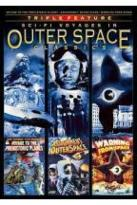 Outer Space Classics Triple Feature: Voyage to the Prehistoric Planet/Assignment: Outer Space/Warning from Space