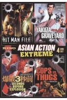 Asian Action Extreme: Hit Man File/Yakusa Graveyard/3 Seconds Before Explosion/Cops vs. Thugs