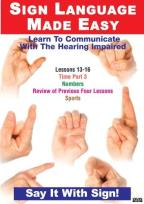 Sign Language DVD Series 13-16