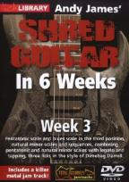 Lick Library: Andy James' Shred Guitar in 6 Weeks - Week 3