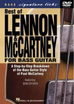 Best of Lennon and McCartney for Bass Guitar