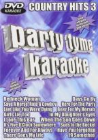 Party Tyme Karaoke - Country Hits 3