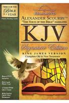 Alexander Scourby KJV Bibles On DVD Signature Edition