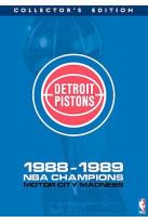 NBA Detroit Pistons 1989 Champions: Born To Be Bad