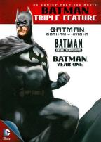Batman Triple Feature: Gotham Knight/Under the Red Hood/Year One