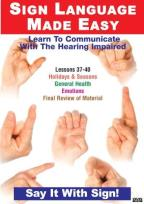 Sign Language DVD Series 37-40