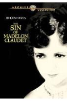 Sin of Madelon Claudet