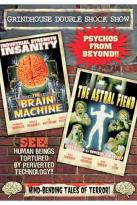 Grindhouse Double Shock Show: The Brain Machine/Astral Factor