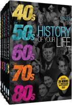 Decade You Were Born: History of Your Life - 40s-80s