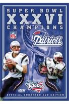 Super Bowl XXXVI - New England Patriots