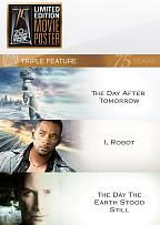 Day After Tomorrow/I, Robot/The Day the Earth Stood Still