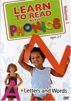 Learn To Read With Phonics - Volume 1: Letters And Words