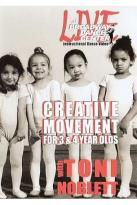 Broadway Dance Center: Creative Dance Movement For 3 & 4 Year Olds