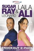 Sugar Ray Leonard & Laila Ali - Knockout Workout 2-Pack