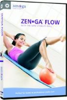 Zen Ga Flow: With The Mini Stability Ball
