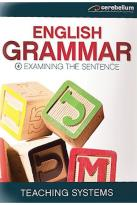 Teaching Systems Grammar Module 4 - Examining the Sentence