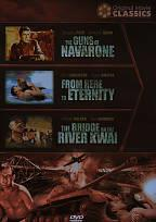 World War II Films - Guns Of Navaronne, From Here To Eternity, The Bridge Over River Kwai