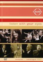 Listen with Your Eyes - Sampler & Catalogue 2007