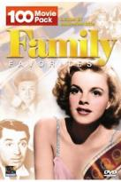 Family Favorites - 100 Movie Pack