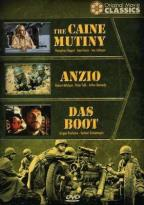 World War II Films - Caine Mutiny, Anzio, Das Boot