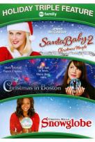 Santa Baby 2: Christmas Maybe/Christmas in Boston/Snowglobe