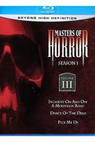 Masters of Horror Blu-ray - Season 1 Volume 3