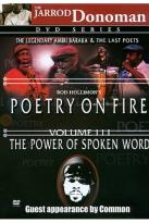 Poetry on Fire - Volume 3: The Power of Spoken Word