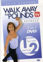 Leslie Sansone - Walk Away the Pounds Express 2-Pack: 1 & 2 Mile Walks