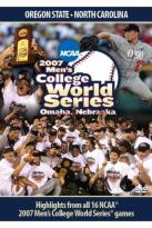 2007 Men's College World Series: Oregon State vs. North Carolina