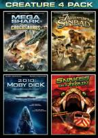 Mega Shark vs. Crocosaurus/The 7 Adventures of Sinbad/2010: Moby Dick/Snakes on a Train