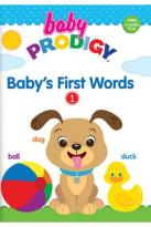 Baby Prodigy: Baby's First Words, Vol. 1