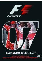 Official Review of the 2007 F1A Formula One Championship
