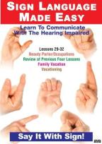 Sign Language DVD Series 29-32
