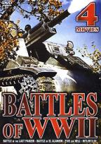 Battles of World War II - Four Movie DVD Set