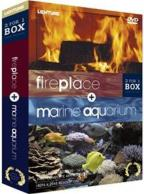 Fireplace/Marine Aquarium