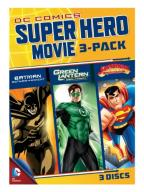 DC Comics Super Hero Movie 3-Pack