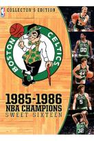 NBA Boston Celtics 1985-86