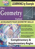 Geometry Tutor: Complimentary & Supplementary Angles