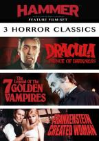 Hammer Feature Film-Set: 3 Horror Classics