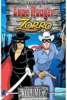 New Adventures of the Lone Ranger/ Zorro - Vol. 2