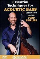 Essential Techniques for Acoustic Bass - Vol. 1