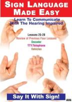 Sign Language DVD Series 25-28