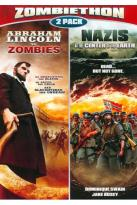 Nazis at the Center of the Earth/Abraham Lincoln vs. Zombies