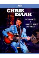 Chris Isaak: Live in Concert/Greatest Hits Live Concert