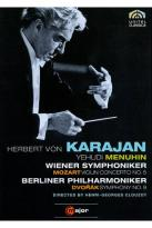 Herbert Von Karajan: Mozart - Violin Concerto No. 5/Dvorak - Symphony No. 9