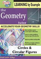 Geometry Tutor: Circles & Circular Figures
