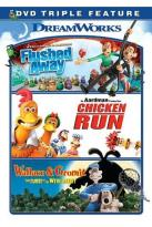 Flushed Away/Chicken Run/Wallace and Gromit
